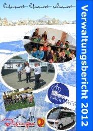 Verwaltungsbericht 2012 - Gemeinde Bisingen