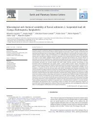 Mineralogical and chemical variability of fluvial sediments 2 ...
