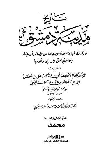 تاريخ مدينة دمشق - ج 55 : محمد بن عمير