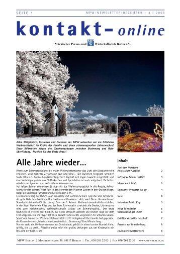 NEWS - Märkischer Presse