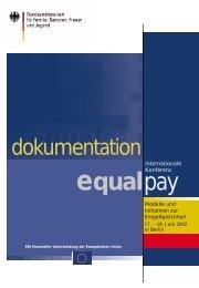 Equal pay - Bundesministerium für Familie, Senioren, Frauen und ...