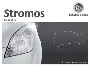 Preisliste (PDF) - German E-Cars
