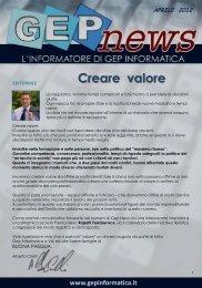 Diapositiva 1 - GEP Informatica Srl
