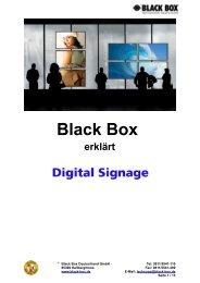 2. Signalverteilung – mögliche Plattformoptionen - Black Box ...