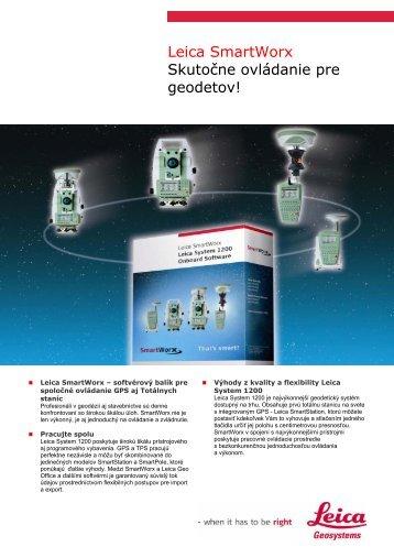 Prospekt SmartWorx - Geotech