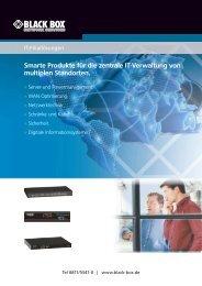 Smarte Produkte für die zentrale It-Verwaltung von multiplen ...