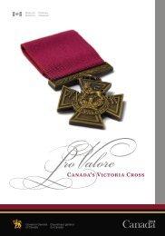 Canada's Victoria Cross - Le gouverneur général du Canada