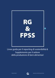Linee guida per il reporting di sostenibilità & Supplemento per il ...