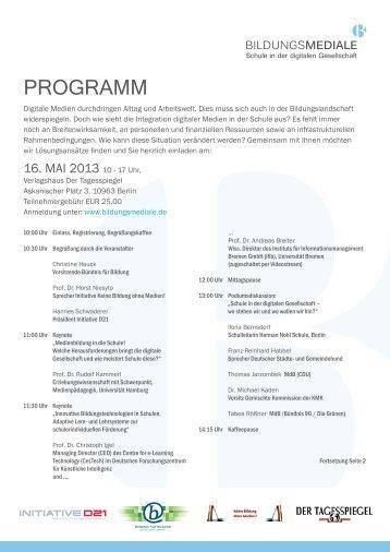 Programm als PDF-Datei - GMK