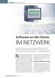 Software an alle Clients - BIT Informationssysteme Gmbh