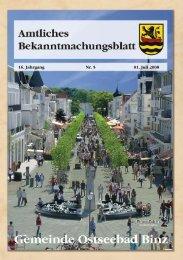 16. Jahrgang Nr. 5 01. Juli 2008 - Gemeinde Binz