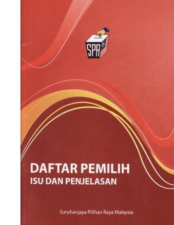 2012 - DAFTAR PEMILIH ISU DAN PENJELASAN.pdf