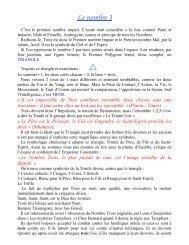 Le nombre 3 - Grand Lodge Bet-El