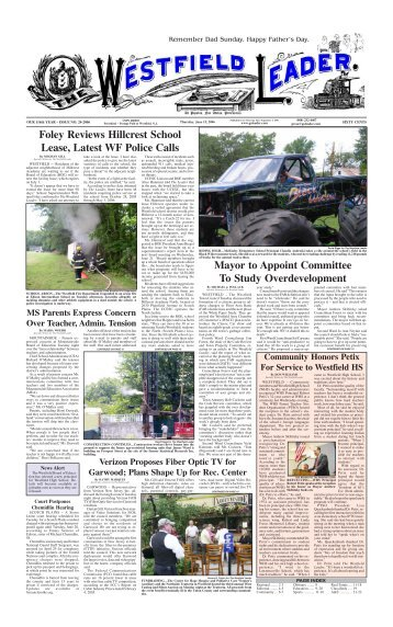 06jun15 newspaper - The Westfield Leader