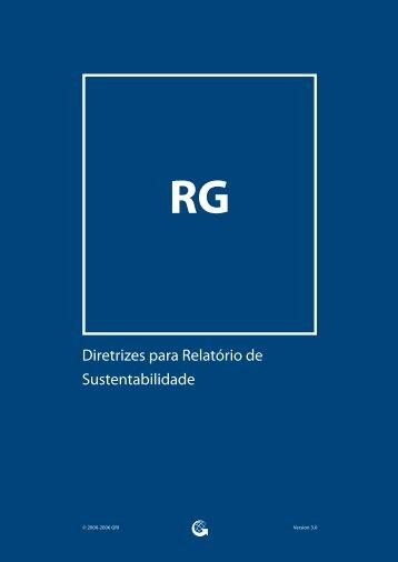 Diretrizes para Relatório de Sustentabilidade