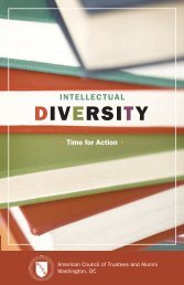Intellectual Diversity - Portfolio