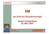 DIN 1045-2 - Geiger