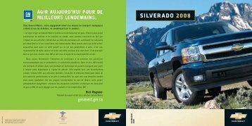 Chevrolet, Silverado - GM Canada