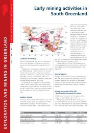 Exploration and Mining in Greenland, Fact sheet 2, 2002 - Geus