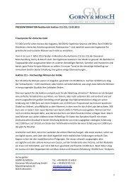 Herausgeber - Gorny & Mosch GmbH
