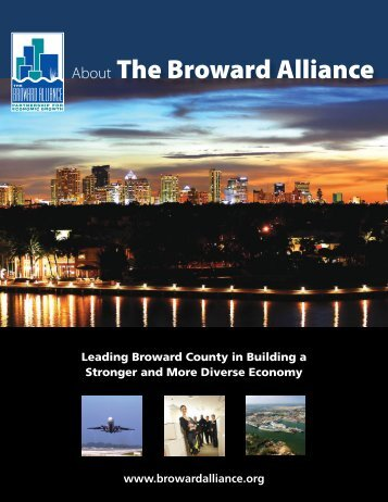 About The Broward Alliance