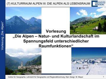 Kulturraum - Geographie