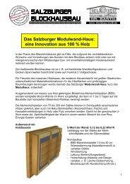 Salzburger BLOCKHAUSBAU - Blockhaus Barth