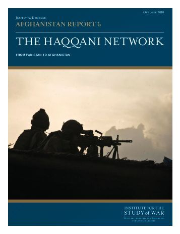 The Haqqani Network: From Pakistan to Afghanistan
