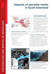 Exploration and Mining in Greenland, Fact sheet no. 3, 2002 - GEUS