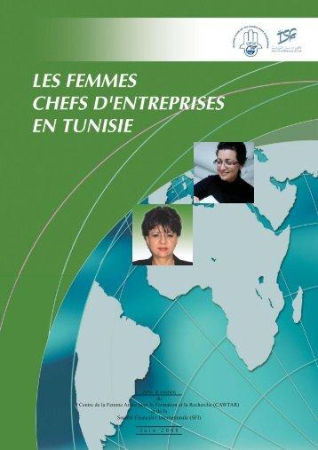 les femmes chefs d'entreprises en tunisie - Cawtar clearing house ...