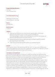 kongenitales Rett-Syndrom - genteQ