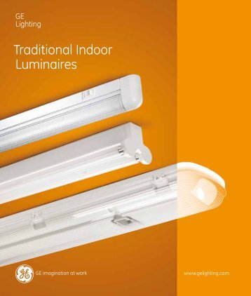 Traditional Indoor Luminaires (Spectrum) - Catalogue - GE Lighting