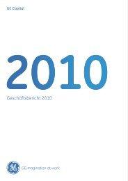 Geschäftsbericht 2010 - GE Capital Deutschland