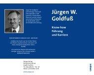 Download des Campus Sammel-Prospekts - Jürgen W. Goldfuß