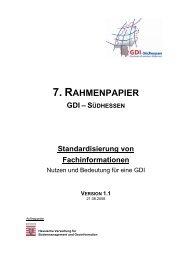 7. RAHMENPAPIER - GDI-Südhessen