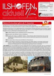 Ausgabe 1-2/2013 - Gewerbeverein-ilshofen.de