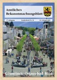 Sonderdruck Nr. 30 vom 02. Februar 2009 - Binz