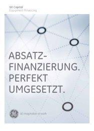 GE Capital Equipment Financing - GE Capital Deutschland