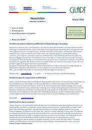 2010-01 Newsletter GLADT