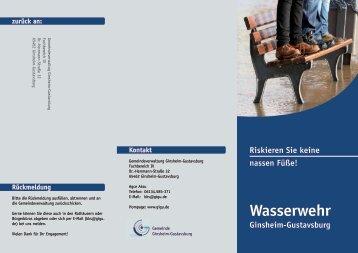 Wasserwehr - Ginsheim-Gustavsburg