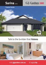 Sarina 211 - G.J. Gardner Homes