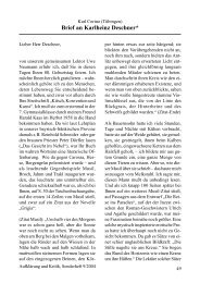 Karl Corino: Brief an Karlheinz Deschner