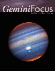 Issue 33, Dec. 2006 - Gemini Observatory