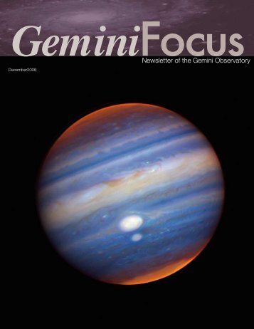 Issue 33, Dec. 2006 - Gemini Observatory