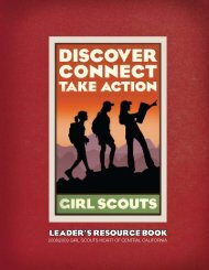 leader's resource book - Girl Scouts Heart Of Central California