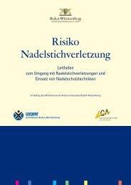Risiko Nadelstichverletzung - Öffentlicher Gesundheitsdienst