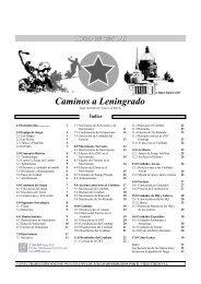 Caminos a Leningrado - GMT Games