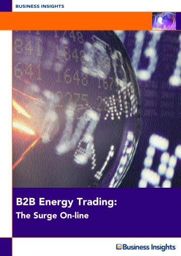 B2B Energy Trading: - Business Insights