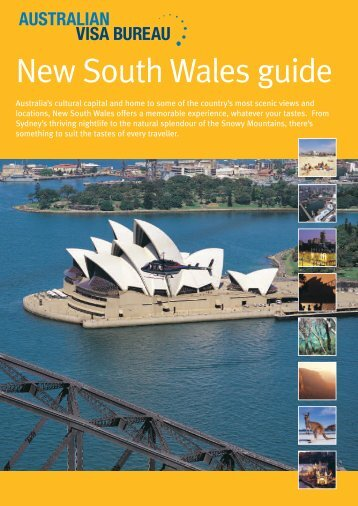Download the New South Wales accommodation guide - Visa Bureau