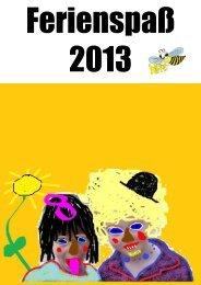 Ferienspass 2013 - Gemeinde Westerkappeln